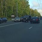 «Пробка огромная». В Пензе попали в аварию сразу шесть машин. ФОТО