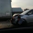 Жесткое ДТП в Пензе: легковушка влетела в фургон