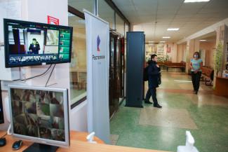 «Ростелеком» показал работу пункта тепловизионного контроля в пензенской школе
