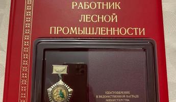 Владимир Вдонин удостоен звания «Заслуженный работник лесной промышленности»
