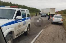 В Пензенской области произошло ужасное ДТП с большегрузами (фото)