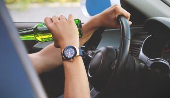 На трассе в Пензенской области поймали пьяного уголовника на «Калине»