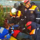 Обнародованы фото с места жесткой аварии в дачном поселке под Пензой