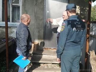 В Пензе рассказали о пожарной безопасности жителям частного сектора