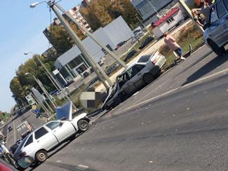 В Пензе произошла серьезная авария с участием АвтоВаза
