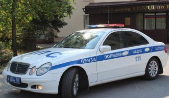 За выходные в Пензе и области задержали около 40 пьяных автомобилистов