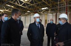 Иван Белозерцев оценил ход строительства технопарка «Союз» в Пензе
