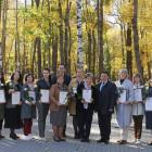 В Пензе открыли обновленную Галерею славы и почета учителей