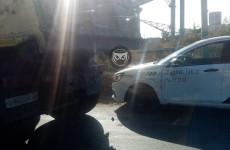 В Пензе машина «Яндекс.Такси» влетела в грузовик
