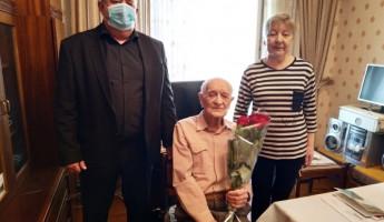 В Пензе отметил столетний юбилей ветеран Великой Отечественной войны