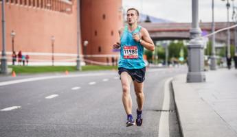 Пензенский пожарный принял участие в марафоне протяженностью 42,2 км в Москве