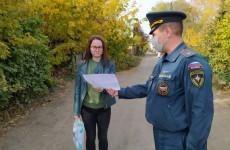 В Пензенской области прошли рейды, связанные с пожарной безопасностью