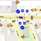 В центре Пензы ограничили движение транспорта из-за ремонта ливневок
