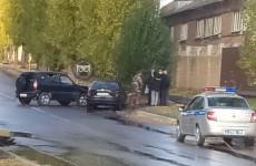 На улице Титова в Пензе жестко столкнулись две машины