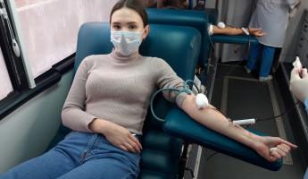 Студенты Пензенского государственного университета стали донорами крови