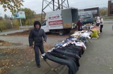 В Октябрьском районе Пензы прошла облава на уличных торговцев
