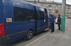 В общественном транспорте Пензы проходят рейды по соблюдению масочного режима