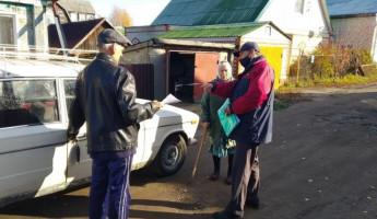 В Пензе рассказали о пожарной безопасности жителям Цыганского поселка