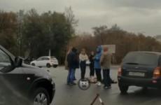 На проспекте Победы в Пензе легковушка наехала на пешехода