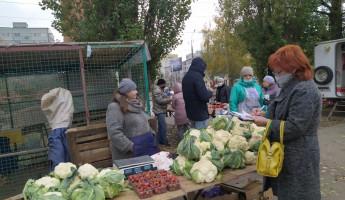 В Пензе составили протоколы на уличных торговцев