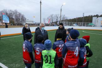 Иван Белозерцев ознакомился с работой детско-юношеской спортивной школы Никольского района