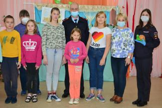 В Пензенской области сотрудники УМВД посетили областной социально-реабилитационный центр для детей и молодых инвалидов