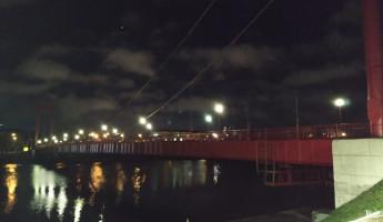 В Пензе на подвесном мосту восстановлено освящение
