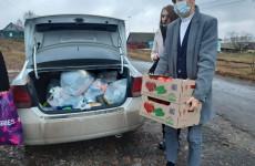 Многодетные семьи Каменского района получили благотворительную помощь