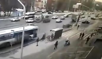 Роковой момент смертельной аварии в Пензе попал на видео