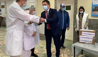 Пензенская областная больница получила новую партию средств защиты