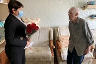 В Пензе поздравили с 97-летнием ветерана Великой Отечественной войны
