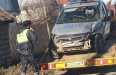 В Пензе угодила в аварию машина ДПС. ФОТО