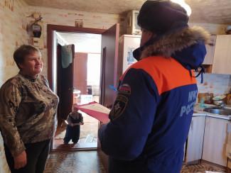 В Лунинском районе продолжаются профилактические рейды по пожарной безопасности