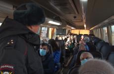 В Городище проверили рейсовые автобусы на соблюдение режима повышенной готовности