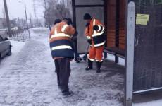 Пензенские коммунальщики вышли на борьбу со снегопадом