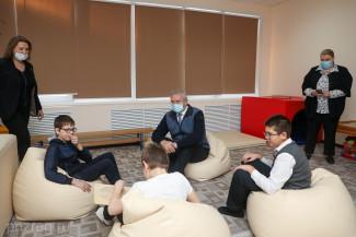 Губернатор Пензенской области посетил школу с инклюзивным образованием