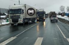 В Пензенской области из-за ДТП образовалась серьезная пробка на трассе М-5