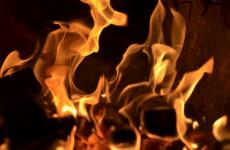 В Пензе произошел пожар в многоэтажном доме по улице Ладожской