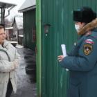 В микрорайоне Шуист прошел профилактический рейд по пожарной безопасности