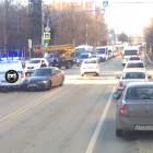В Пензе угодила в аварию полицейская машина