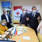 Валерий Лидин встретился с волонтерами акции взаимопомощи «Мы вместе»