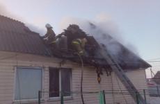 Житель Пензенской области спас из огня женщину с двумя детьми