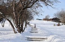 В Пензе приведут в порядок лестницу у Дворца детского творчества