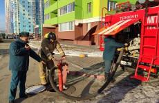 В Пензе провели проверку состояния пожарных гидрантов