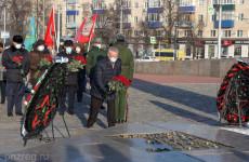 В День Неизвестного Солдата в Пензе возложили цветы к Вечному огню