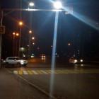 В Пензе сделали дополнительную подсветку на шести пешеходных переходах