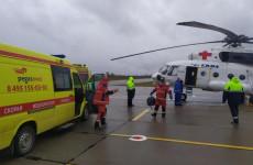 В Пензенской области за два месяца вертолет санавиации уже 15 раз отправлялся на помощь тяжелобольным жителям