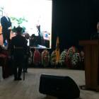 Иван Белозерцев произнес речь на церемонии прощания с Василием Бочкаревым