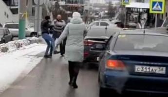 «Дорожные войны». На видео попала драка двух водителей в Пензе