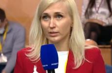 Пензенская журналистка задала вопрос о пенсиях Владимиру Путину